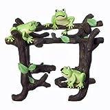 TREE Frog TOOTHBRUSH Holder BATHROOM brush KIDS NEW