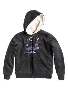Roxy The Eskimos Sweat à capuche zippé fille Phantom FR : 10 ans (Taille Fabricant : T10)