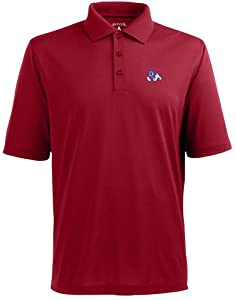 Fresno State Pique Xtra Lite Polo Shirt (Team Color) by Antigua