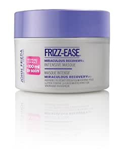 John Frieda Frizz-Ease Masque Traitement Intensif Nutrition Cheveux Secs Miraculous Recovery 250 ml Lot de 2