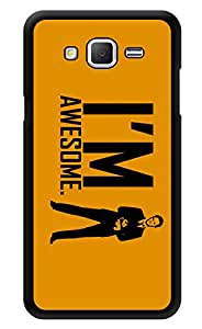 "Humor Gang I Am Awesome - Barney Stinson Printed Designer Mobile Back Cover For ""Samsung Galaxy On5"" (3D, Glossy, Premium Quality Snap On Case)"