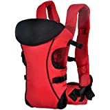 Ecosusi Thick Polyester Stong Baby Carrier Best Child Carrier Baby Backpck (Red)