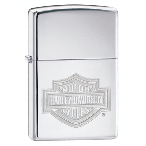 New Zippo Harley Davidson Bar&Shield High Polish Superior Quality Excellent Performance Popular