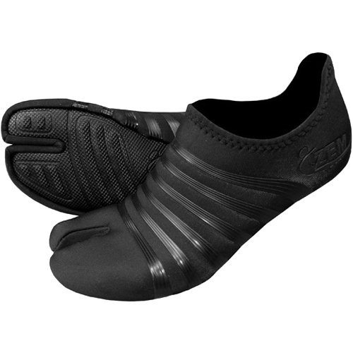 ZemGear Ninja Low - Barefoot Minimal Shoes - Black/Black / X-Small