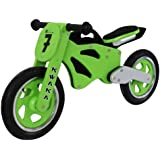 Kwaka Wooden Motorbike Balance Bike