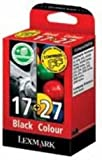 Lexmark No17/No27 Ink Cartridge Black/Col