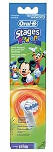 Oral B Braun Kids Aufsteckbürsten extra soft MickeyMouse, 2er Pack