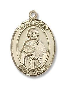 14kt Gold St. Philip Neri Medal