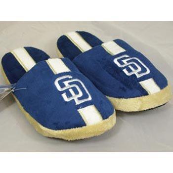 Amazon.com: San Diego Padres MLB Team Stripe Slide Slippers - Size 9