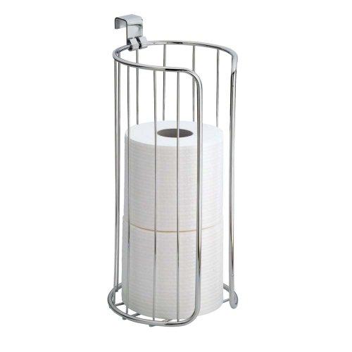 Accesorios De Baño Interdesign:Vertical Toilet Tissue Holder