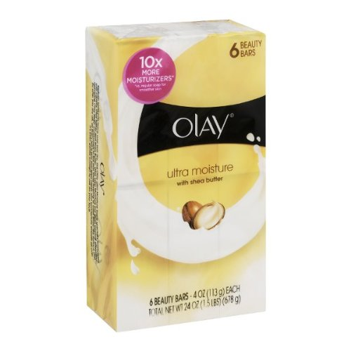 Olay Ultra Moisture Beauty Bars with Shea Butter - 6 CT mc 7806 digital moisture analyzer price with pin type cotton paper building tobacco moisture meter