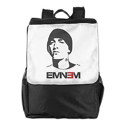 Eminem Backpack Knapsack Rucksack Computer Shoulder Bag Daypacks Packsack Handy Lightweight
