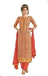 Om Creation Multicolor Embroidered cotton Salwar Suit HS6