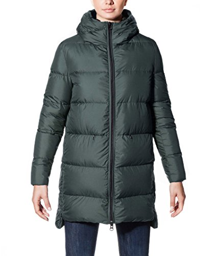 ECOALF - Marangu Down Coat Woman, Piumino da donna, verde (green bottle 107), M