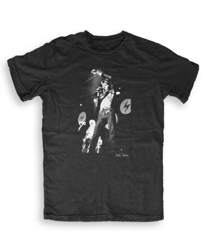 Don 't Talk To Me About Heroes - David Bowie (4) - Music T-shirts by Debi Doss S To XXL ltext