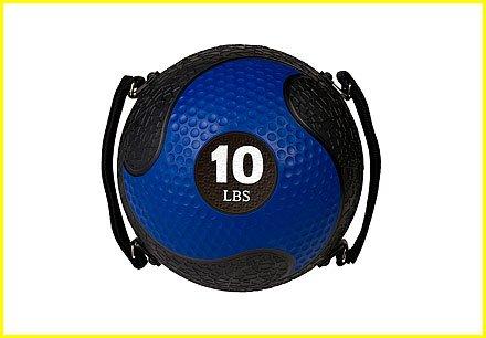 6 Lb Medicine Ball With Handles