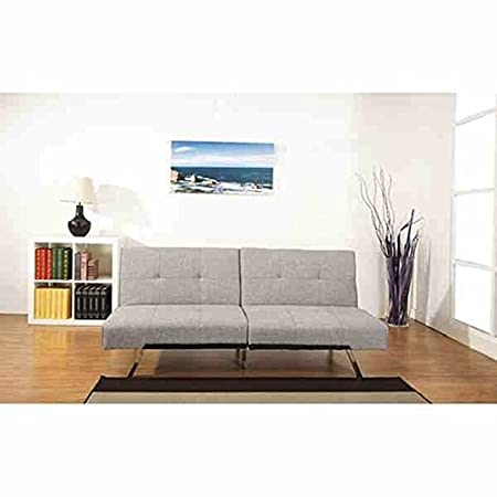 Jacksonville Ash Premium Fabric Foldable Futon Sleeper Comfortable Sofa Bed