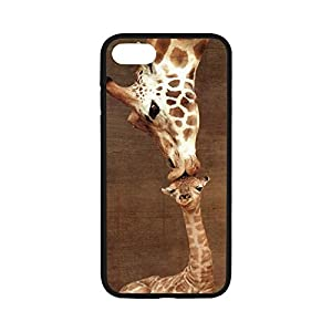 Rubber Case for iPhone7(4.7 inch),Cover for iPhone 7,Case Cover For iPhone 7,Giraffe Pattern Protective Rubber Case for iPhone 7,Protective Case for iPhone 7 4.7