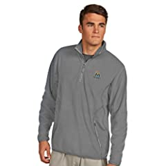MLB Miami Marlins Mens Ice Pullover by Antigua