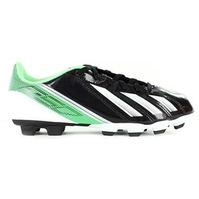 Adidas F5 TRX FG J Boys Soccer Shoes in Black1/RunningWhite sz:4.5