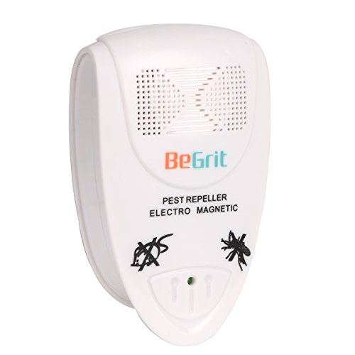 BeGrit SW-8432 Ultrasonic Pest Repeller Controls Rodent Pests - Repel Mice, Rats, Moths, Bats And More (Mice Removal compare prices)
