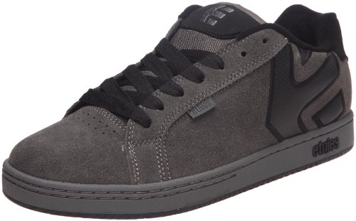 Etnies Men's Fader Suede Dark Grey/Black Lace Up 4101000203 9 UK, 10 US