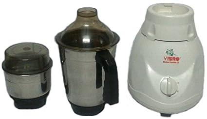 Vibro-Vibro22-2-Jar-Mixer-450-W-Mixer-Grinder-(White)