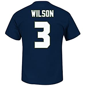 Seattle Seahawks Russell Wilson Super Bowl 49 Eligible Receiver T-Shirt by VF Imagewear