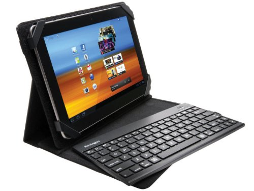 Kensington K39519US KeyFolio Pro 2 Universal Removable Keyboard, Case and Stand for 10-Inch Tablets (Black)
