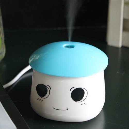 AGPtek® USB Portable Air Mist Humidifier for Bedrooms, Living Rooms,Car,Home and Office - 1