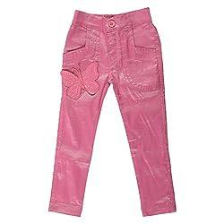 Little Kangaroos Girls Pink Pant (8903208870886_Pink_12-18 Months)