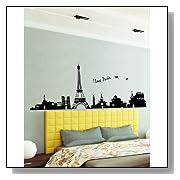 I Love Paris Eiffel Tower Sticker Decal