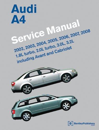Audi a4 2003 repair manual.