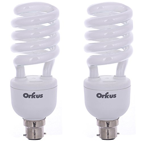 27 Watt CFL Bulb (White,Pack of 2)