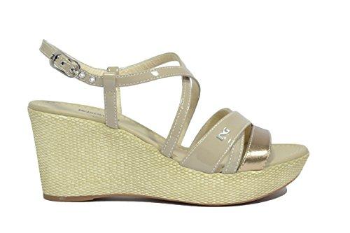 Nero Giardini Sandali zeppa sabbia 5621 scarpe donna P615621D 38