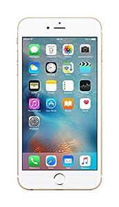 Apple iPhone 6s Plus Smartphone débloqué 4G (Ecran : 5,5 pouces - 64 Go - iOS 9) Or