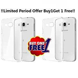 Transparent Clear Soft Back Case Cover Back Cover for Samsung Z3 Tizen Phone !!Limited Period Offer Buy 1 Get 1 Free!!