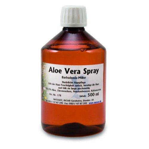 Natusat Aloe Vera Spray 250 ml, Haut- und Haarpflege für Pferde