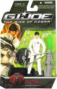 G.I. Joe Movie The Rise of Cobra 3 3/4 Inch Action Figure Storm Shadow (Paris Pursuit) - 1