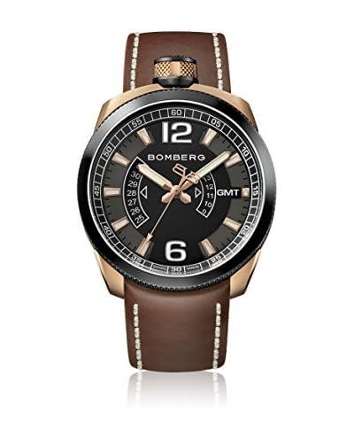 Bomberg Reloj con movimiento cuarzo suizo Man Bolt68 Gmt 45 mm