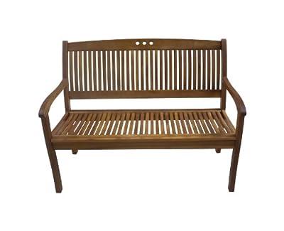 Gartenbank 2-Sitzer Sitzbank Holzbank FSC Eukalyptus Parkbank von sedex auf Gartenmöbel von Du und Dein Garten