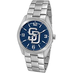 Game Time Unisex MLB-ELI-SD Elite San Diego Padres 3-Hand Analog Watch by Game Time