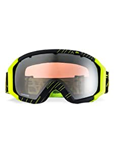 Quiksilver Men's Q2 Mirror Goggle - Black/Yellow, One Size