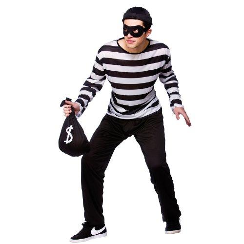 Burglar - Adult Costume Men : X LARGE