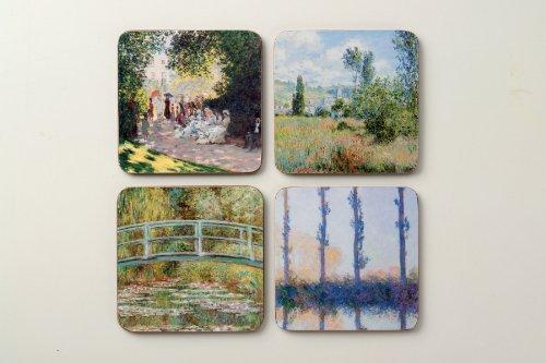 The Metropolitan Museum of Art Coaster Set, Monet
