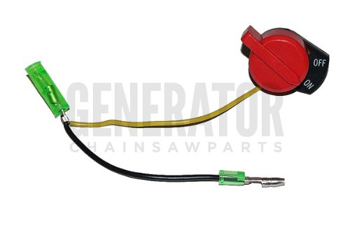 Honda Gx110 Gx120 Gx160 Gx200 Gx240 Gx270 Gx340 Gx390 Engine Motor Generator Lawn Mower Water Pump Replacement Kill Switch Button 2 Wire Version
