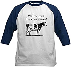 CafePress Kids Baseball Jersey - FRINGE Walter put the Cow away Kids Baseball Jer