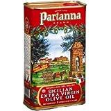 Partanna Extra Virgin Italian Olive Oil 3 Liter Can
