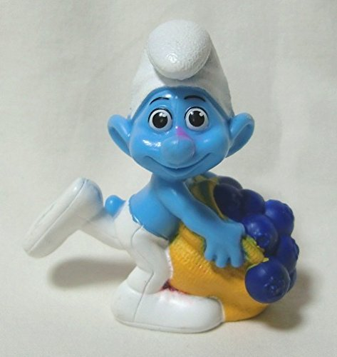 2011 US McDonald's Happy Meal toy movie ' Smurfs (THE SMURFS) ' ' greedy ' figure - 1