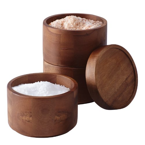 Rachael Ray Tools and Gadgets 3-Tier Wooden Stacking Salt Box     Rachael Ray